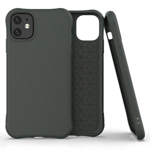 Husa Soft Color Case flexible gel case for iPhone 11 Dark Green - Trendmobile