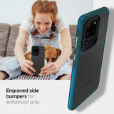 Husa Spigen Ciel Color Brick Galaxy S20 Ultra Forest Green - Trendmobile