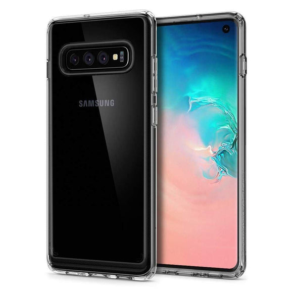 Husa Spigen Crystal Hybrid Galaxy S10 Crystal Clear - Trendmobile