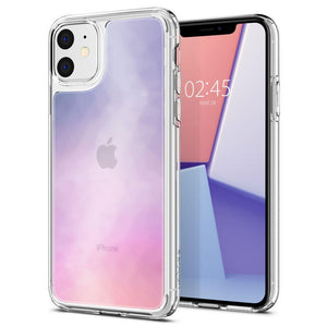 Husa Spigen Crystal Hybrid Quartz Iphone 11 Gradation - Trendmobile