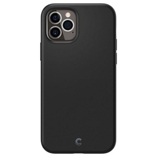 Husa Spigen Cyrill Silicone iPhone 12 Pro / iPhone 12 Black - Trendmobile