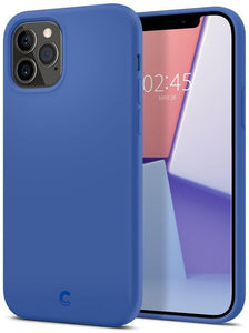 Husa Spigen Cyrill Silicone Iphone 12 Pro Max Navy - Trendmobile