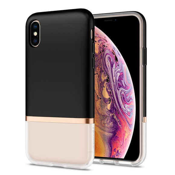 Husa Spigen La Manon Jupe Iphone Xs Max Milk Black - Trendmobile