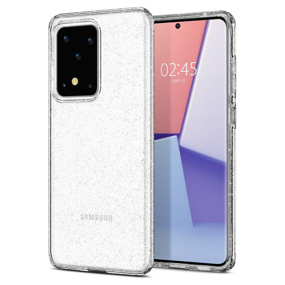 Husa Spigen Liquid Crystal Galaxy S20 Ultra Glitter Crystal - Trendmobile