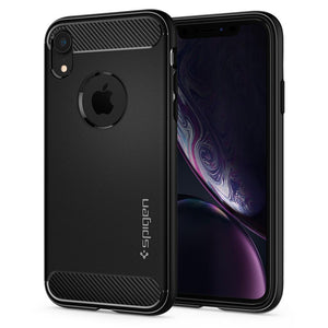 Husa Spigen Rugged Armor pentru Iphone Xr Matte Black - Trendmobile