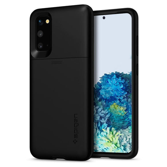 Husa Spigen Slim Armor Cs Galaxy S20 Black - Trendmobile