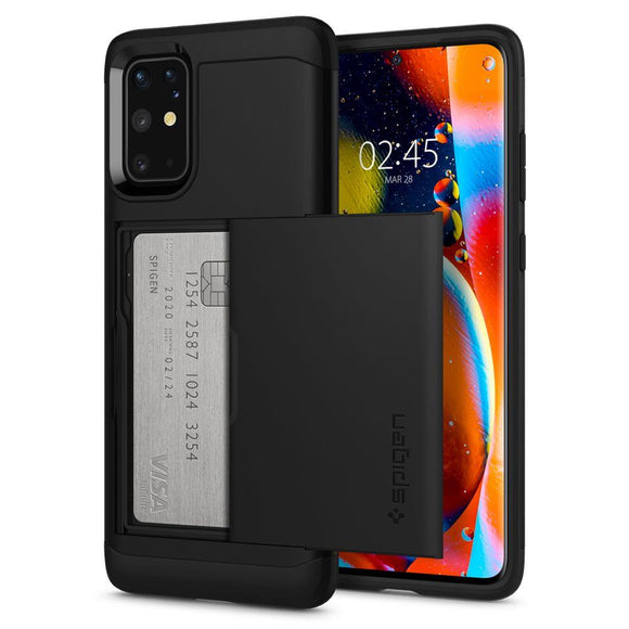 Husa Spigen Slim Armor Cs Galaxy S20+ Plus Black - Trendmobile