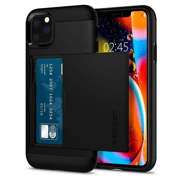 Husa Spigen Slim Armor Cs Iphone 11 Pro Black - Trendmobile
