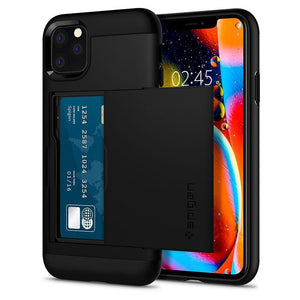 Husa Spigen Slim Armor Cs Iphone 11 Pro Max Black - Trendmobile