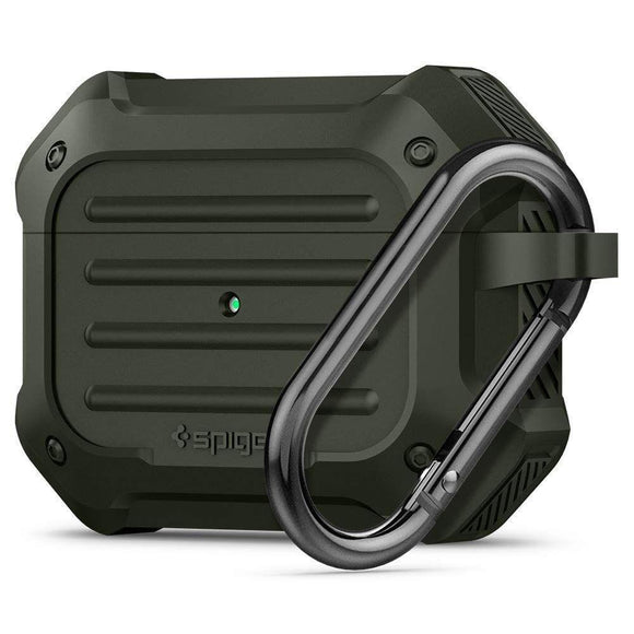 Husa Spigen Tough Armor Airpods Pro Military Green - Trendmobile