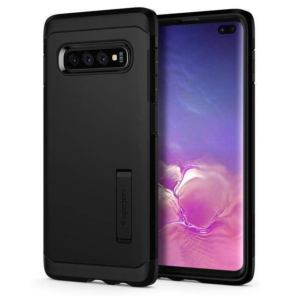 Husa Spigen Tough Armor Galaxy S10+ Plus Black - Trendmobile