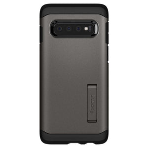 Husa Spigen Tough Armor Galaxy S10+ Plus Gunmetal - Trendmobile