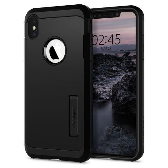 Husa Spigen Tough Armor Iphone Xs Max Black - Trendmobile