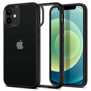 Husa SPIGEN ULTRA HYBRID IPHONE 12 MINI BLACK - Trendmobile