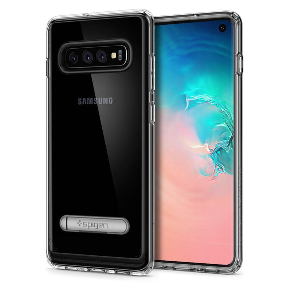 "Husa Spigen Ultra Hybrid ""S"" Galaxy S10 Crystal Clear - Trendmobile"