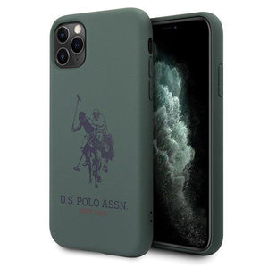 Husa US Polo iPhone 11 green Silicone - Trendmobile