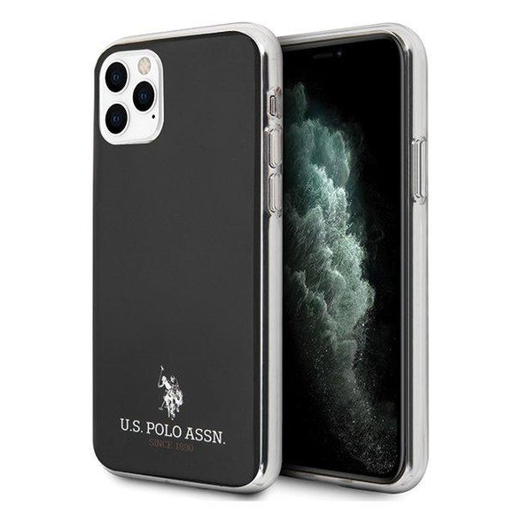 Husa US Polo iPhone 11 Pro Max black Shiny - Trendmobile
