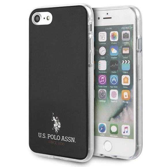 Husa US Polo iPhone 7/8/SE 2020 black Shiny - Trendmobile