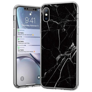 Husa Wozinsky Marble TPU case cover for Samsung Galaxy A40 black - Trendmobile