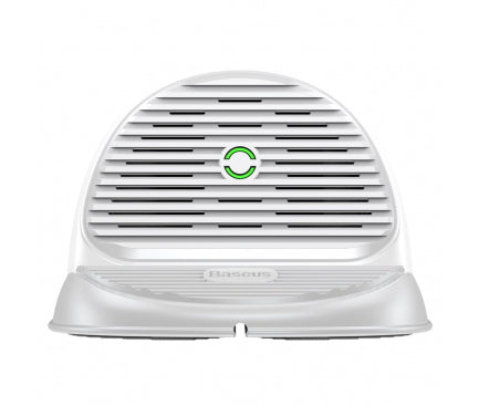 Incarcator Retea Wireless Baseus Horizontal Quick Charge Cu Suport Antiderapant Si Ventilator Incorporat - Trendmobile