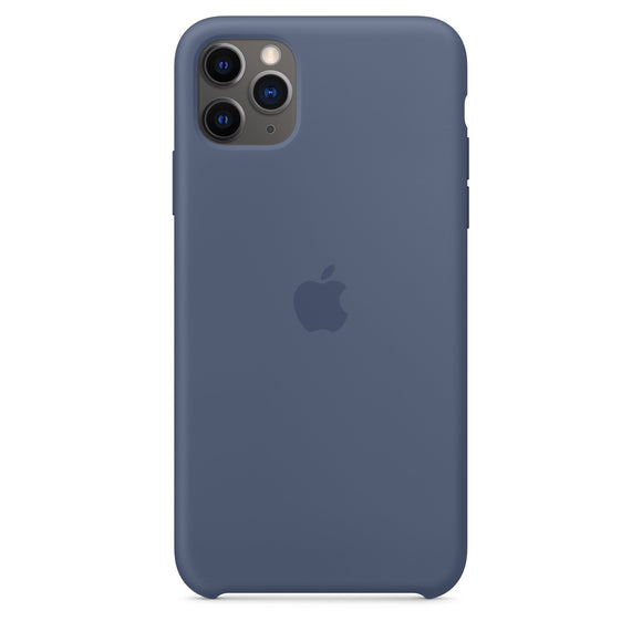 Resigilat - Husa de Silicon Apple iPhone 11 Pro - Alaskan Blue - Trendmobile