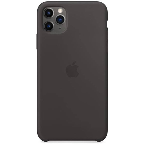 Resigilat - Husa de Silicon Apple iPhone 11 Pro Max - Black - Trendmobile