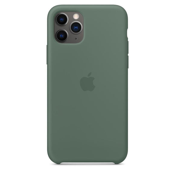 Resigilat - Husa de Silicon Apple iPhone 11 Pro Max - Pine Green - Trendmobile