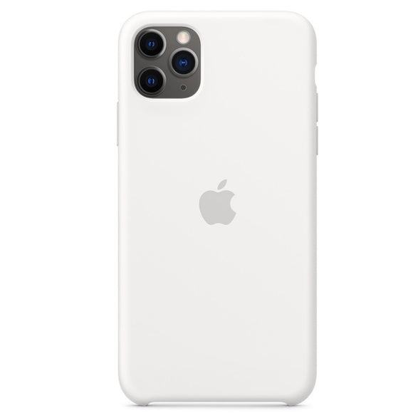Resigilat - Husa de Silicon Apple iPhone 11 Pro Max - White - Trendmobile