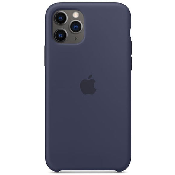 Resigilat - Husa de Silicon Apple iPhone 11 Pro - Midnight Blue - Trendmobile