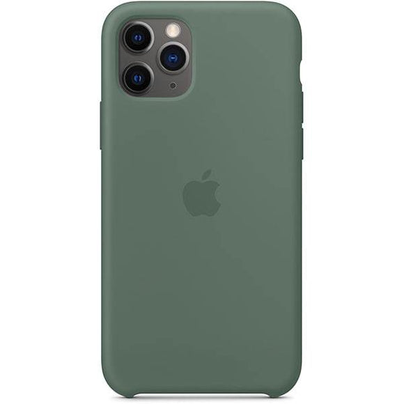 Resigilat - Husa de Silicon Apple iPhone 11 Pro - Pine Green - Trendmobile