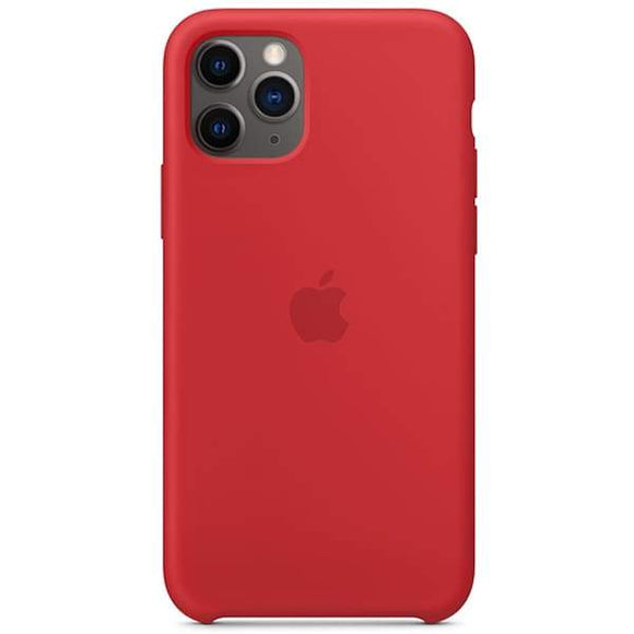 Resigilat - Husa de Silicon Apple iPhone 11 Pro - Red - Trendmobile