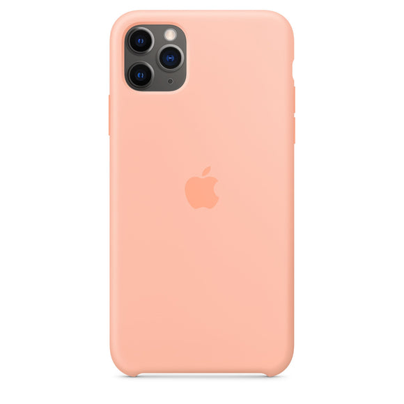 Resigilat - Husa de Silicon Apple pentru iPhone 11 PRO - Grapefruit - Trendmobile