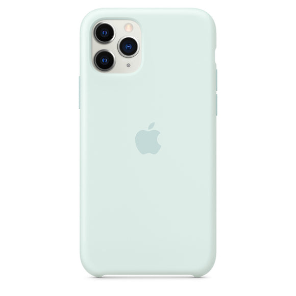 Resigilat - Husa de Silicon Apple iPhone 11 PRO - Sea Foam