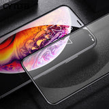 FOLIE STICLA TEMPERED GLASS 9D IPHONE - Trendmobile