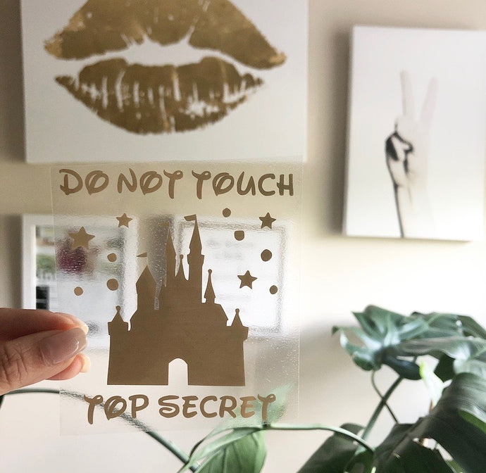 Do not Touch - Top Secret Vinyl