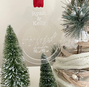 Customizable Acrylic Customizable Ornaments