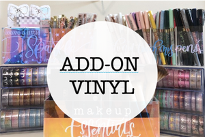 (ADD-ON) Vinyl for Acrylic Organizer