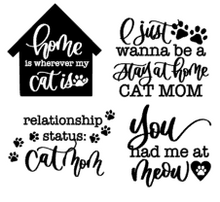 Load image into Gallery viewer, Dog/Cat Mom Vinyl Bundle