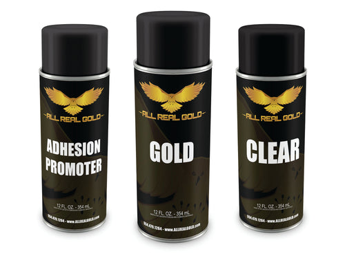 Small Gold Aerosol Combo / Sample Combo