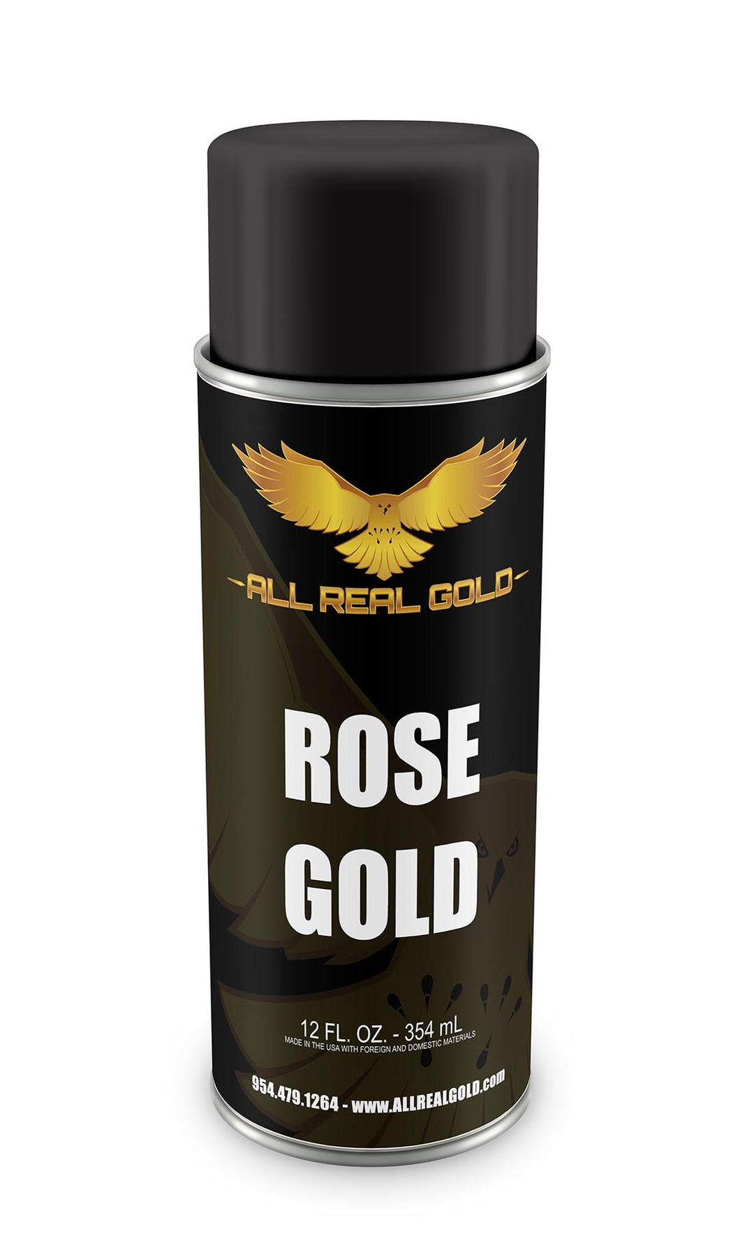 Rose Gold Aerosol 12oz Spray Can