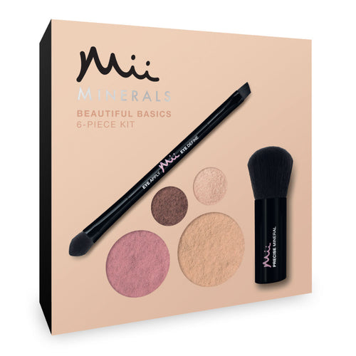 Mii Cosmetics Beautiful Basics Mineral Makeup Kit