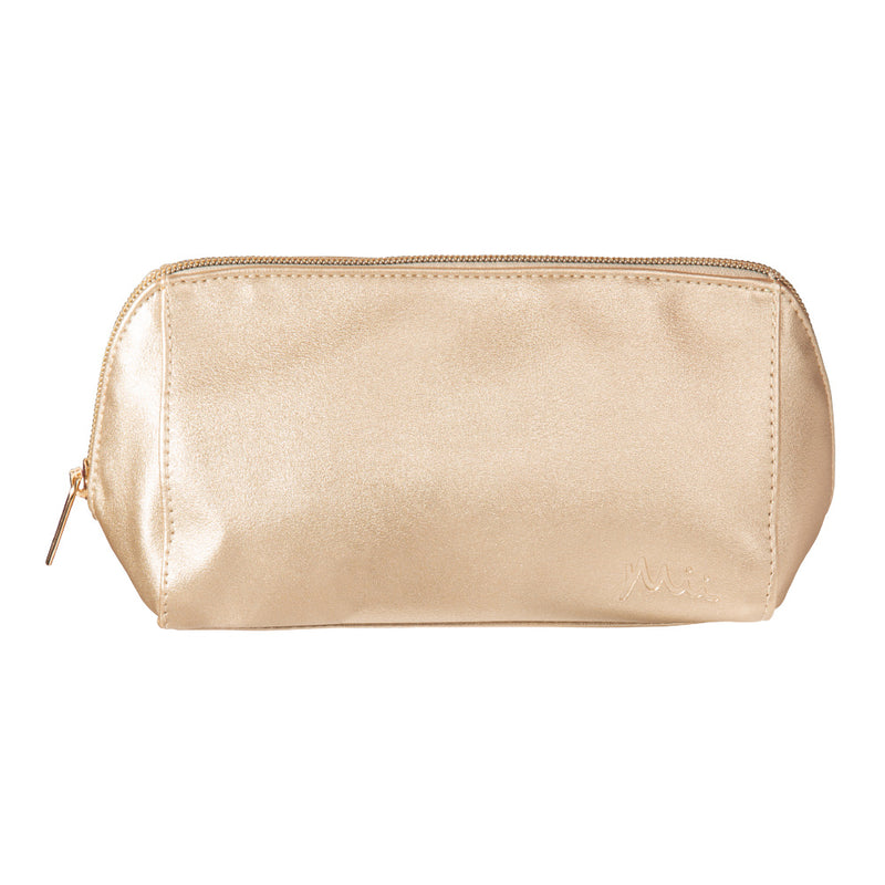 Deluxe Gold Makeup Bag