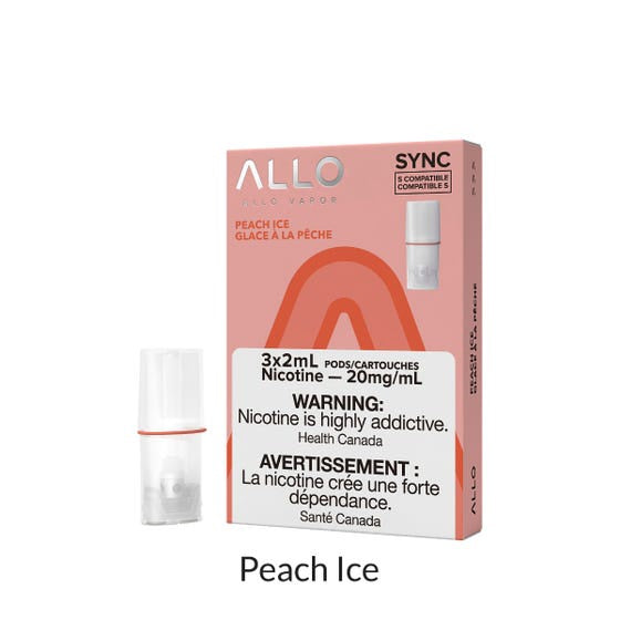 Peach Ice Allo Sync Pods