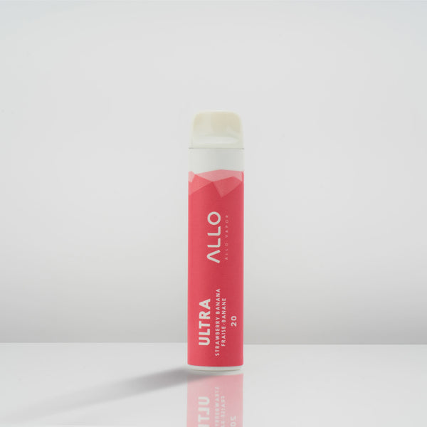 Allo Ultra Disposable - Strawberry Banana