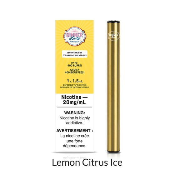 Dinner Lady Disposable - Lemon Citrus Ice