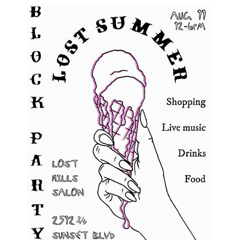 LOST HILLS LA SUMMER BLOCK PARTY