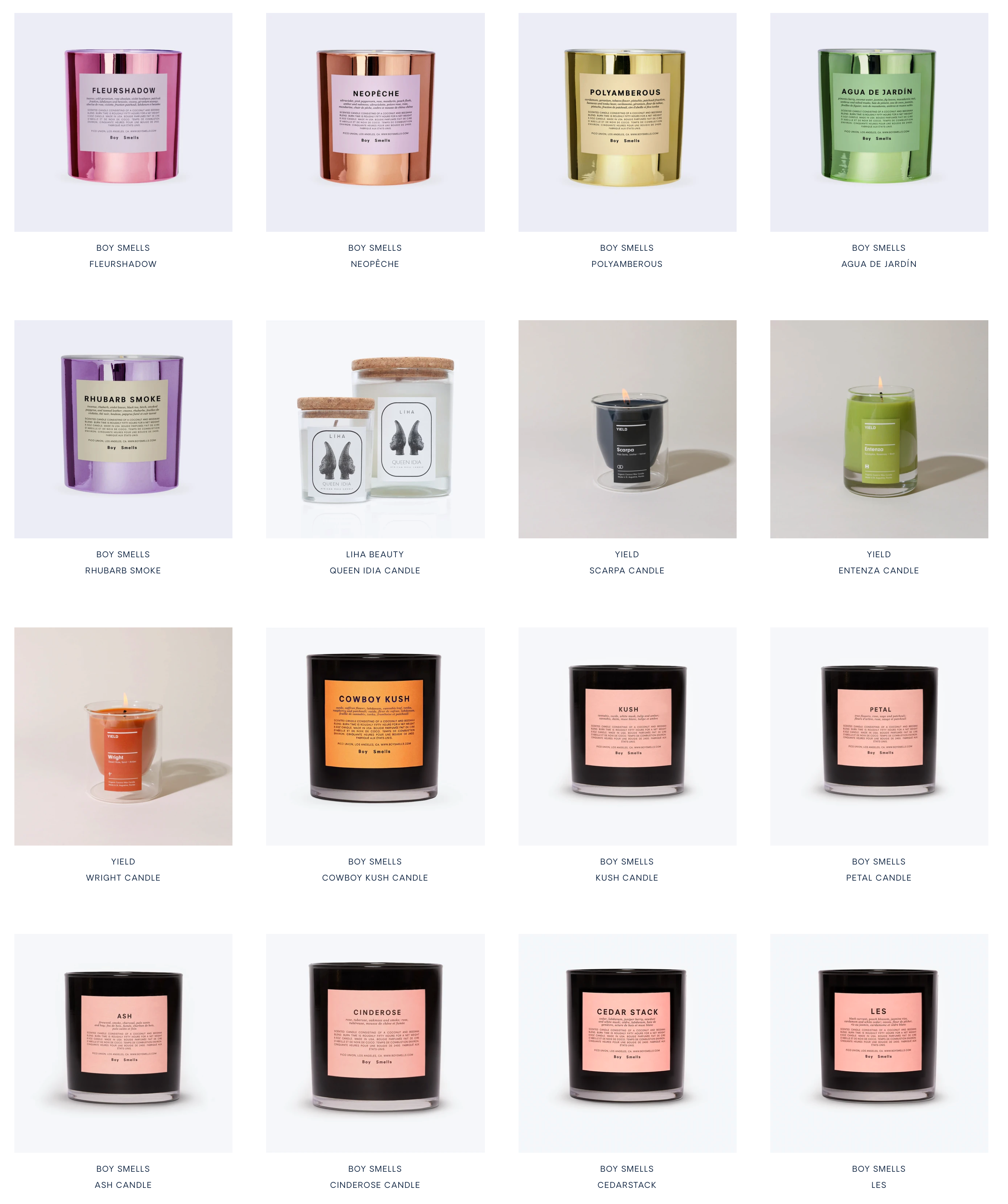 Candles that help you relax, boost your mood, stimulate memory, improve sleep and create ritual.