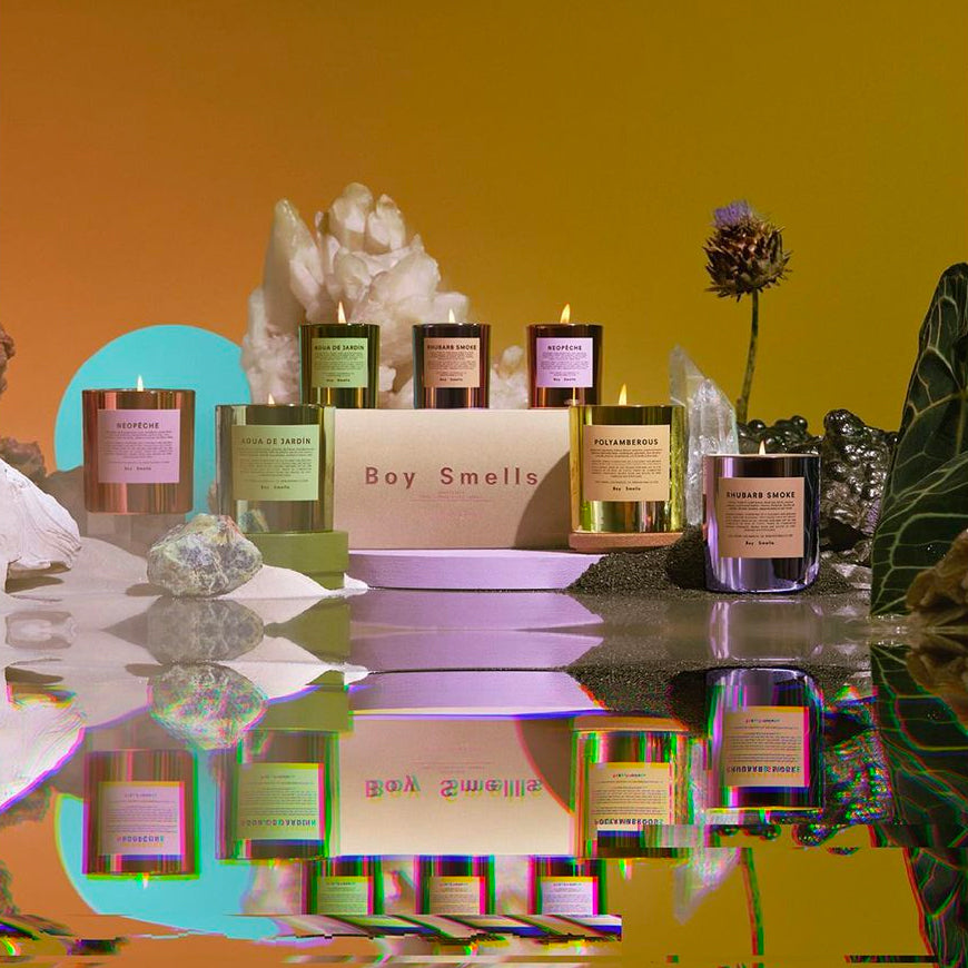 Boy Smells Hypernature Candle Collection