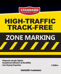 High-Traffic / Track-Free Zone Marking Traffic Paint for Parking Lots