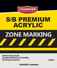 S/B Premium Acrylic Zone Marking Traffic Paint for Parking Lots